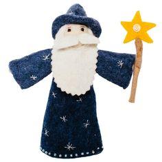 Merlin Wizard Felted Doll