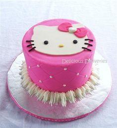 Hello Kitty Torte, Hello Kitty Birthday Cake, Birthday Cake Girls, Birthday Ideas, 38th Birthday, Birthday Cakes, Birthday Parties, Happy Birthday, Anniversaire Hello Kitty