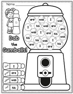 Sight Words FREEBIE