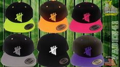 5 Seconds of Summer snapback 5SOS NEWEST by winteriscoming2012, $20.00 the grey one!!