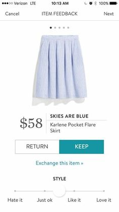 I like this style of skirt but would prefer a different color