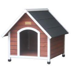 The hacienda dog house houses amp outdoor kennels dog petsmart