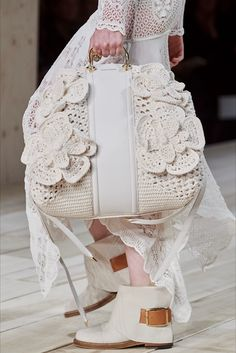 Alexander Mcqueen Spring 2020 Fashion Show Details. All the fashion runway close-up details, shoes, and handbags from the Alexander Mcqueen Spring 2020 Fashion Show Details. Fashion 2020, Paris Fashion, Fashion Bags, Fashion Models, Spring Fashion, Fashion Shoes, Fashion Accessories, Womens Fashion, Fashion Fashion