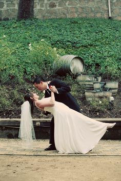 Another photo opportunity at a Testarossa Winery Wedding