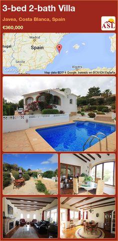 3-bed 2-bath Villa in Javea, Costa Blanca, Spain ►€360,000 #PropertyForSaleInSpain