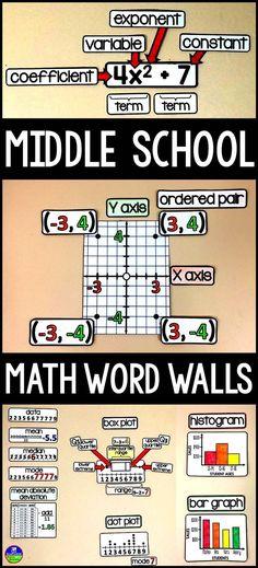 High school math word wall ideas pinterest high school algebra you middle school math teachers hats off to you for a year fandeluxe Gallery
