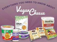 Try these SIMPLE recipes using every type of vegan cheese! Mmmm....