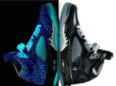 Cool glowing shoes with an inspirational story. - http://noveltystreet.com/item/13093/