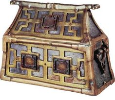 Made in Scotland or Ireland toward the end of the eighth century, the original purpose of Ranvaik's chest had been to house the bones of a Christian saint. (Photo: National Museum of Denmark)