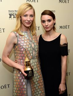 #Carol #CarolMovie  Cate Blanchett & Rooney Mara