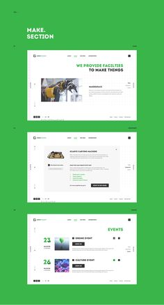 Green Garage on Web