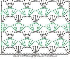 ABC Knitting Patterns - Prayer Shawl.