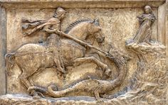 St.George and the Dragon. | Flickr - Photo Sharing!
