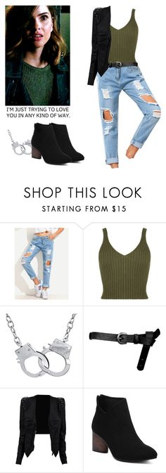 """""""Malia Tate - tw / teen wolf"""" by shadyannon ❤ liked on Polyvore featuring WearAll, ASOS and Cheville"""