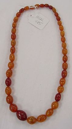 This collection of largely ethnographic jewelry includes examples from cultures in South America, North America, Europe, Asia, and Africa and dates from the Pre-Columbian period to the twentieth century Amber Necklace, Amber Jewelry, Beaded Jewelry, Amber Stone, Amber Beads, Baltic Amber, Round Beads, Topaz, Jewerly
