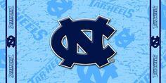 NCAA North Carolina Tarheels Fiber Reactive Beach Towel $14.89