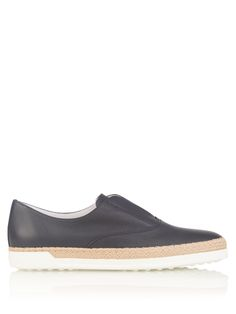 Leather espadrille trainers   Tod's   MATCHESFASHION.COM