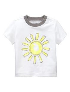 $14,95 *sunshine t-shirt for little boys* Embroidered graphic T   Gap