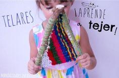 Aprender a tejer telares con ramas