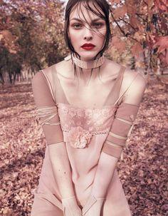 Vogue Japan April 2017 Vittoria Ceretti by Luigi & Iango