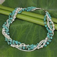 Blue Sea from @NOVICA, They help #artisans succeed worldwide.