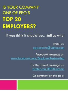 What makes your company a top 20 Employer Partner? #employment #veterans #jobs