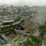 This photo is what was left of Osaka after the Tsunami Struck Japan.