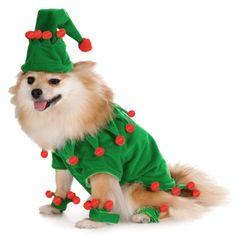 Santa Helper Elf Dog Pet Christmas Costume XL | eBay $15.50
