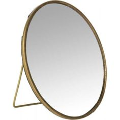 Spiegel, rund, stehend, 15 cm Material, Mirror, Table, Furniture, Home Decor, Circuit, Metal, Homes, Room Decor