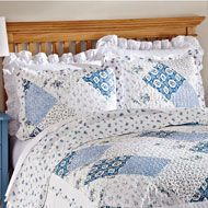 Wilmington Blue and White Pillow Sham - 33822