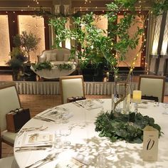 Table Flowers, Banquet, Greenery, Wedding Flowers, Table Settings, Reception, Candles, Table Decorations, Instagram Posts