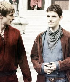 Merlin & Arthur. Favorite bromance since Merry and Pippin