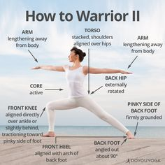 Your guide to this classic standing posture!   What are your favorite cues for Warrior II?