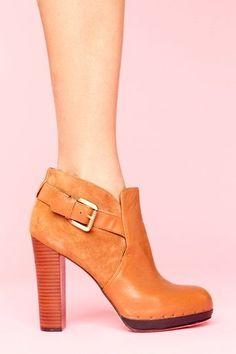 LOVE it!  Lulu Buckled Bootie  $188.00  Style #: 10061:
