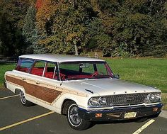 1963 Ford Country Squire Station Wagon | eBay