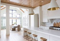Kitchen. Open Concept Kitchen. Open Concept Kitchen to Dining Room. Open Layout Kitchen and Dining Room. #OpenConcept #Kitchen #DiningRoom Ashley Winn Design.