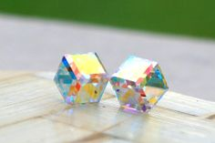 Swarovski Stud Earrings,Crystal Stud Earrings,Swarovski Rhinestone Earrings,Swarovski Necklace,Crystal Necklace