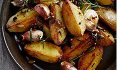 Otlu Fırın Patates Tarifi