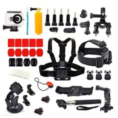 ==> [Free Shipping] Buy Best SHOOT Chest Head Strap Monopod Suction Cup 3M VHB Stickers Float Bobber Waterproof Case for Xiaomi Yi 1st Xiaoyi Accessories Set Online with LOWEST Price | 32707858247