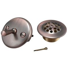 Keeney K82665VB Triplever Style Bath Drain Trim Kit Venetian Bronze -- For more information, visit image link.