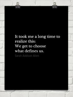 Sarah Addison Allen ~ love this quote!