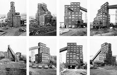 Hilla and Bernd Becher/1975 exhibition/ The New Topographics: Photographs from a Man-Altered Landscape
