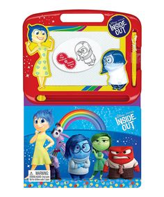 Pixar Inside Out Learning Series Activity Book Disney Inside Out, Disney Pixar, Disney Characters, Movie Releases, Chapter Books, Peppa Pig, Book Activities, Childrens Books, Kids Toys