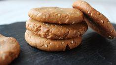 Cookies beurre de cacahuètes et sésame - Fille à fitness