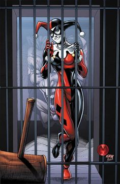 Harley behind Bars