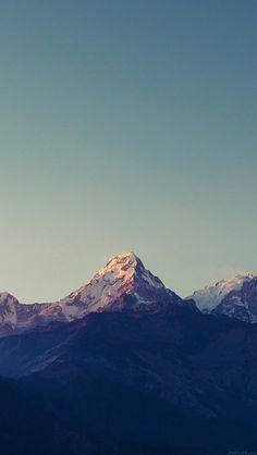 freeios8.com - ml64-mountain-blue-high-sky-nature-rocky - http://bit.ly/1Te1QsK - iPhone, iPad, iOS8, Parallax wallpapers