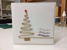 Best Pic Christmas cards 2018 Concepts Xmas plus the Joyful Period are usually rapid approaching. The quicker you can get structured along Christmas Card Crafts, Homemade Christmas Cards, Christmas Wrapping, Homemade Cards, Handmade Christmas, Holiday Crafts, Christmas Holidays, Christmas Decorations, Christmas Ornaments