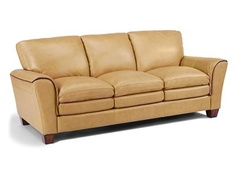 flexsteel latitudes antoni sofa in 121 80 leather. Interior Design Ideas. Home Design Ideas