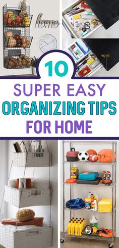 In this world of chaotic life, a clean and organized home makes a big difference. These 10 home organization hacks will make your life and organizing easy. Small Apartment Organization, Small Bathroom Organization, Home Organisation, Home Organization Hacks, Organizing Your Home, Organizing Ideas, Kitchen Pantry Design, Kitchen Ideas, Useful Life Hacks