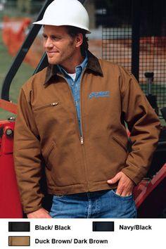 Cornerstone Duck Cloth Construction Work Jacket $48.95
